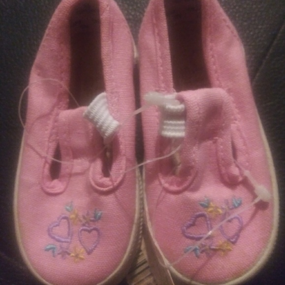 Chicory Sport baby girl slip on shoes NWT